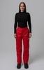 Nordski Light утепленные ветрозащитные брюки женские красные - 2
