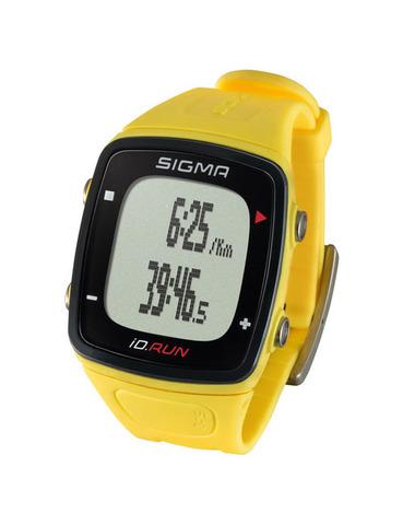 Sigma ID.RUN спортивные часы yellow