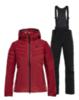 Горнолыжный костюм женский 8848 Altitude Maximilia Poppy red-black - 1