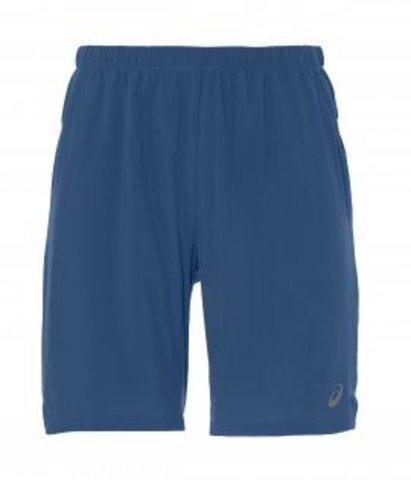 """Asics 2 In 1 7"""" Short шорты для бега мужские синие"""