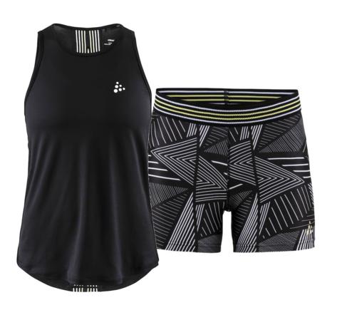 Craft Lux Fitness женский комплект для тренировок черный