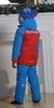 Nordski National Kids детский прогулочный костюм  красный - 2