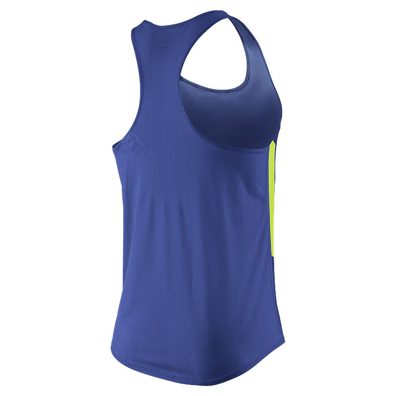 Майка л/а Nike Distance Singlet синяя - 2