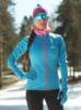 Nordski Elite разминочная куртка женская синяя - 1