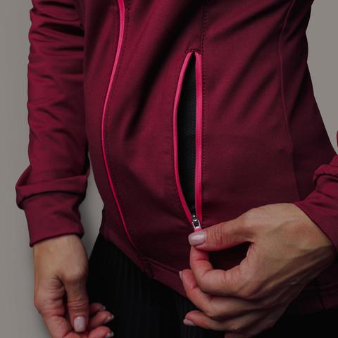 Nordski Layer толстовка женская бордо