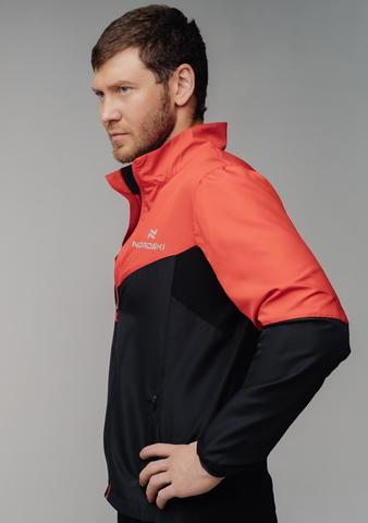 Nordski Sport костюм для бега мужской red-black