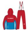 Nordski Montana Premium RUS прогулочный лыжный костюм мужской Red - 2