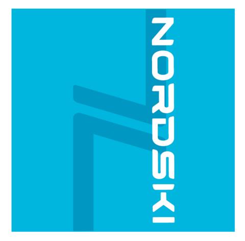 Nordski Logo многофункциональный баф light blue
