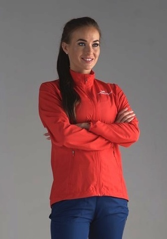 Nordski Motion Run костюм для бега женский Red