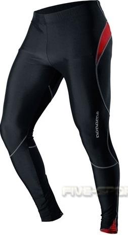Лосины Noname Long o-tights 12 черно-красные - 2