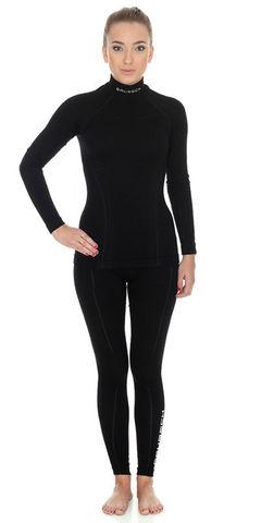 Brubeck Wool Merino женский комплект термобелья черный