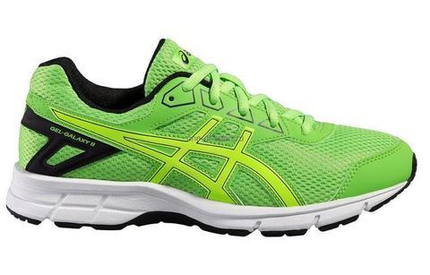 Asics Gel Galaxy 9 GS кроссовки для бега детские зеленые