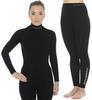 Brubeck Wool Merino женский комплект термобелья черный - 2