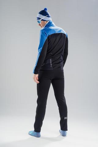 Nordski Active лыжный костюм мужской blue-black