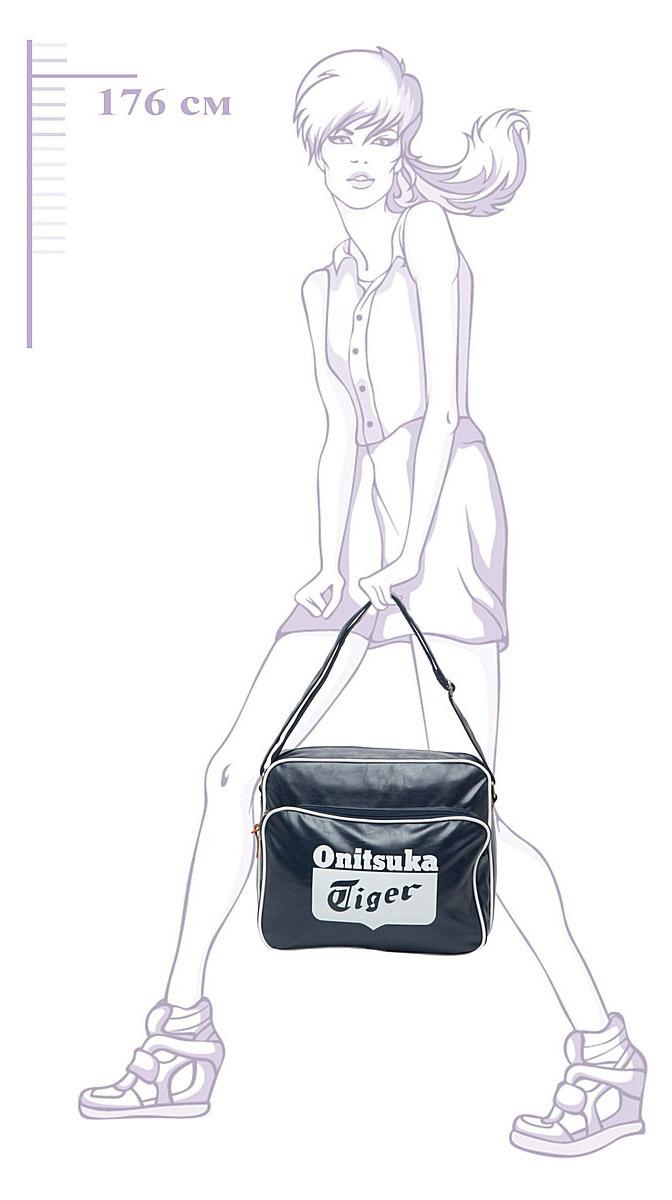 Сумка Asics Messenger Bag blue - 4
