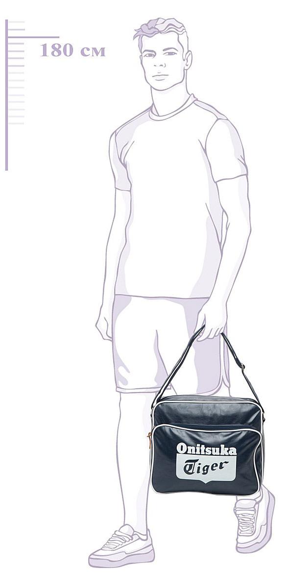 Сумка Asics Messenger Bag blue - 5