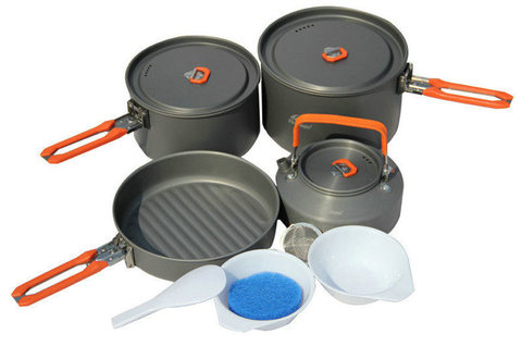 Fire-Maple Feast 4 набор туристической посуды