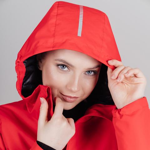Nordski Urban утепленная куртка женская красная
