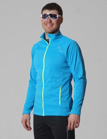 Nordski Elite мужская разминочная куртка blue