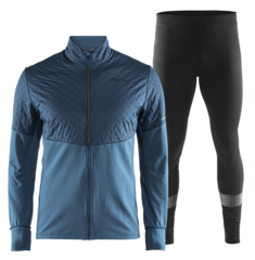 Craft Urban Thermal Run Brilliant костюм для бега утепленный мужской