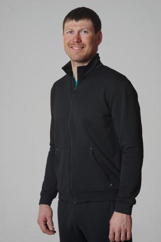 Nordski Zip толстовка мужская черная