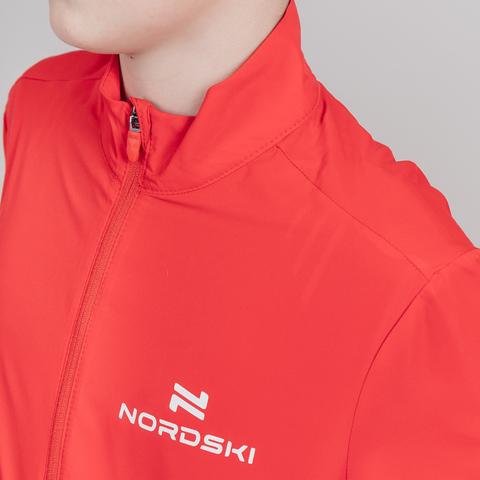 Nordski Jr Motion костюм беговой детский красный