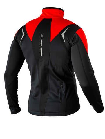 Victory Code Go Fast разминочная лыжная куртка red