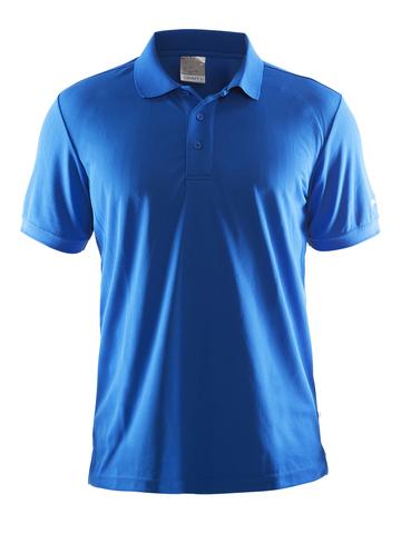 Футболка-поло мужская Craft Pique blue