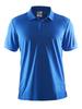 Футболка-поло мужская Craft Pique blue - 1