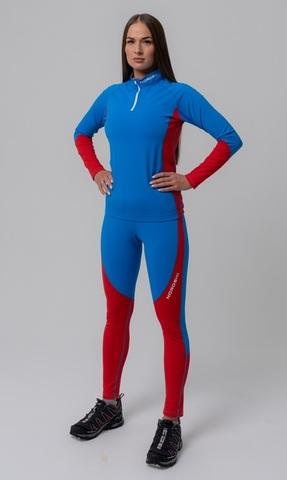 Nordski Active лыжный гоночный комбинезон синий-красный