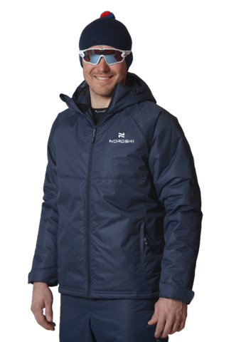 Nordski Motion 2020 прогулочная куртка темно-синяя