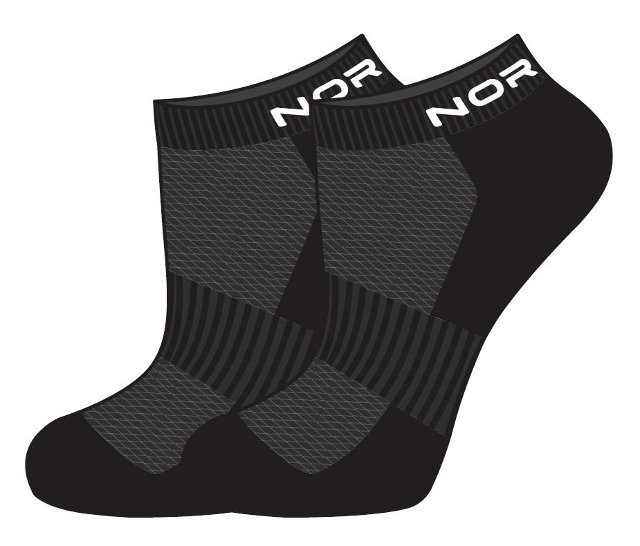 Nordski Run комплект спортивные носки black - 2