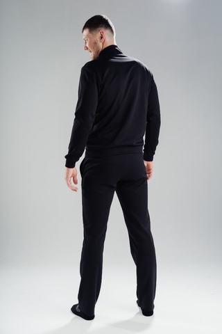 Nordski Zip толстовка мужская black-orange