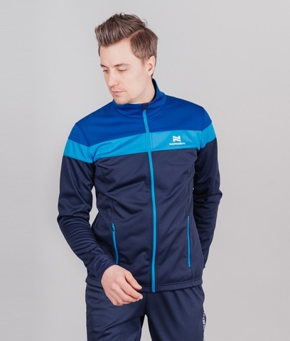 Nordski Drive лыжная куртка мужская blueberry-blue