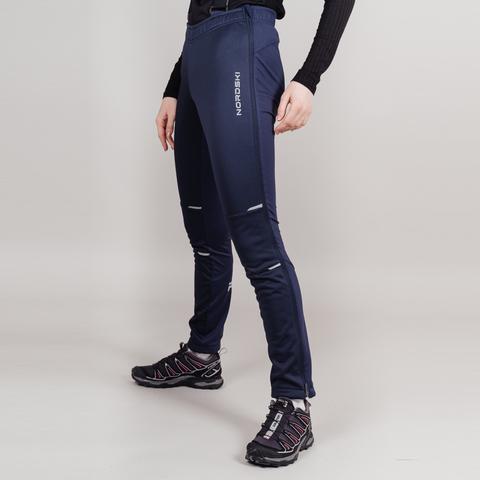 Nordski Premium разминочный лыжный костюм женский pink-blueberry