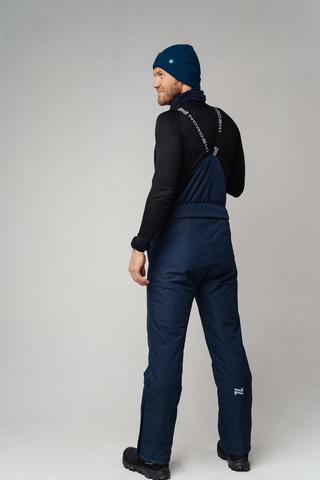 Уцененные Nordski Mount лыжные утепленные брюки мужские dark blue