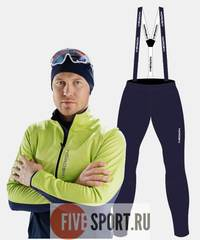 Nordski Premium лыжный костюм мужской green-blueberry