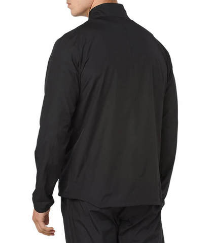 Asics Silver мужская куртка для бега черная
