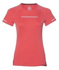 Asics Lite Show Ss Top футболка беговая женская коралловая