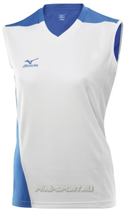 Футболка Mizuno W's Trade Sleeveless 361 white волейбольная