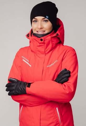 Nordski Extreme горнолыжный костюм женский red