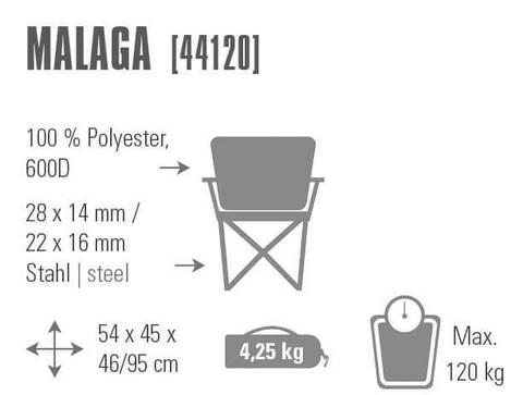 High Peak Malaga кресло