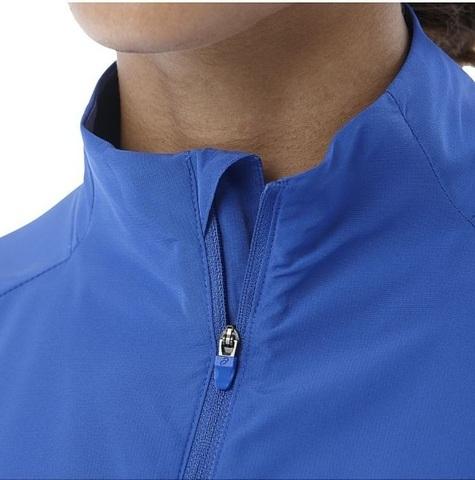 Куртка для бега женская Asics Jacket синяя