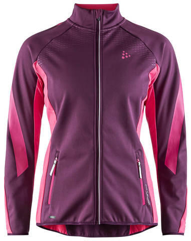 Craft Sharp SoftShell женская лыжная куртка purple