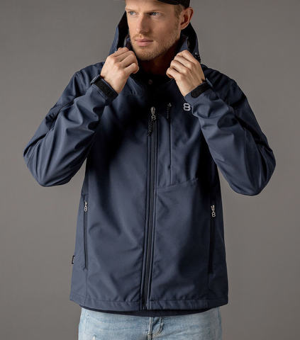 8848 Altitude Padore Softhell утепленная лыжная куртка мужская navy