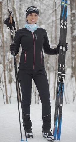 Nordski Active лыжный костюм женский черный
