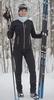 Nordski Active лыжный костюм женский черный - 3
