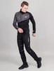 Nordski Premium лыжный костюм мужской grey-black - 1
