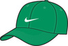 Бейсболка Nike зелёная - 1