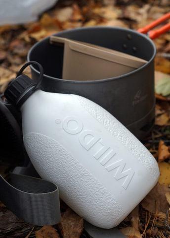 Wildo Hiker Bottle фляга dark grey